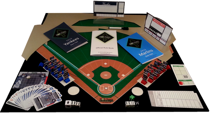 28 inch durable and flexible game mat. Shown above is the Rivals Box Set. Not shown are the additional players for the two teams and the remaining 28 sets of teams.