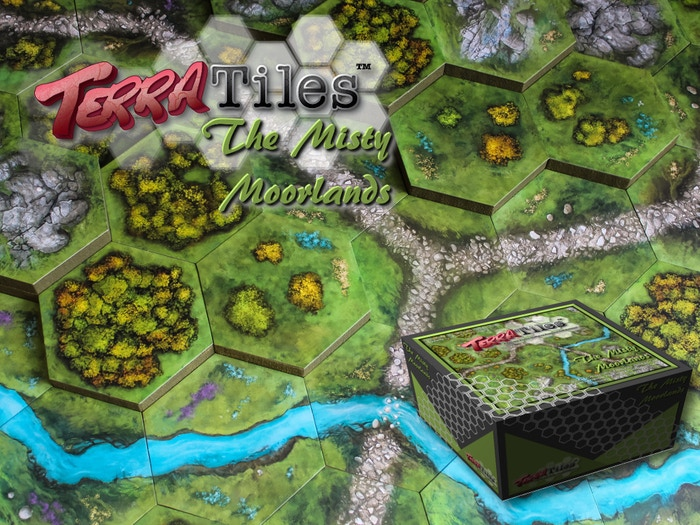 A Tabletop Terrain System for Miniature Games, Wargames, and RPGs. Affordable, Portable, and Easy to Store!
