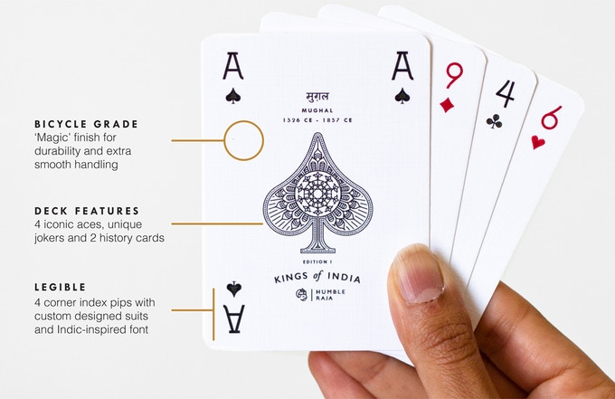Features of a pip card