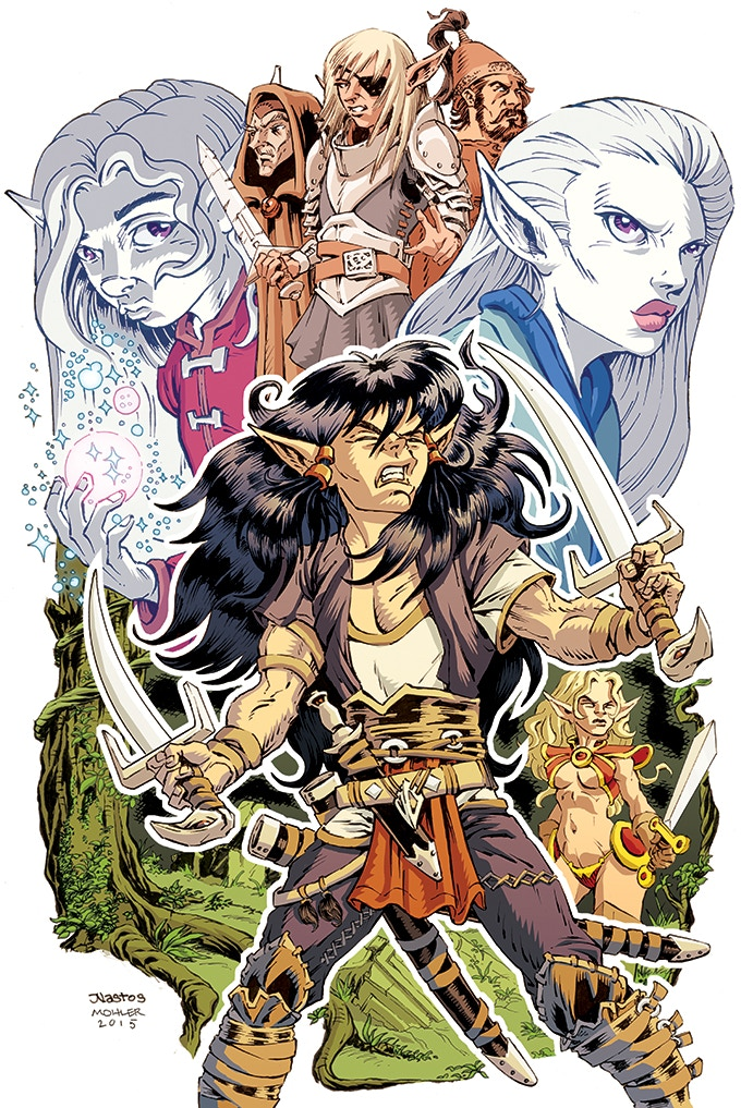 Variant Cover Poster by Mat Nastos and Jeremy Mohler.