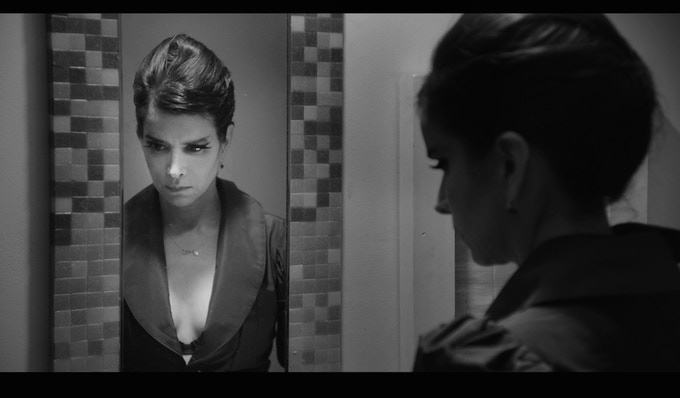 Patricia Velasquez in 'Guys Reading Poems.' Cinematography by Michael Marius Pessah Costume designed by Shpetim Zero