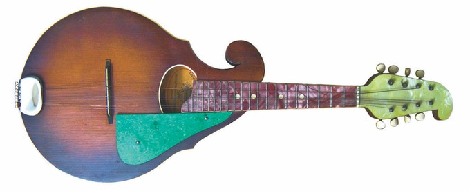 A Regal mandolin 1930s