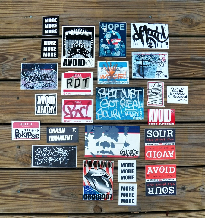 $35 - Graffiti Sticker Pack from NYC masters