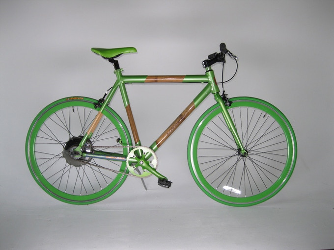 Project Backer Incentive: 1 of 150 limited edition K15 Bamboo & Recycled Aluminum Electric Bikes