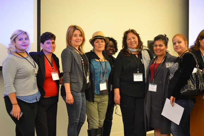 These ladies and community advocates were quite moved by watching a preview of our film at UC Berkeley's Summer Institute on Migration and Health in June 2015. Photo credits: Michelle Villa