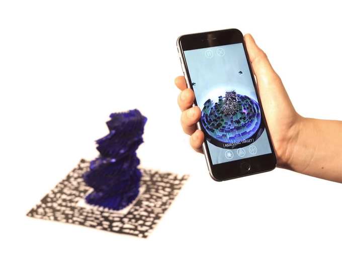 Totems are encoded with music and visuals that can be played back using the Stylus mobile app.