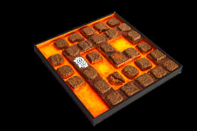 Lava scenery tile (12x12 inch.) / (30x30 cm.)