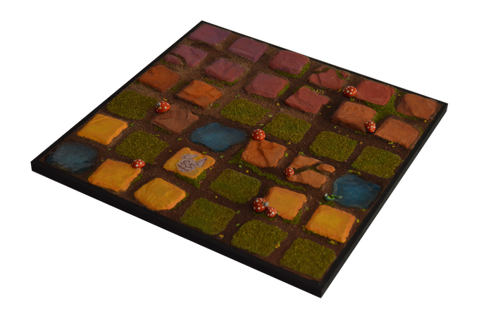 Forest scenery tile (12x12 inch.) / (30x30 cm.)
