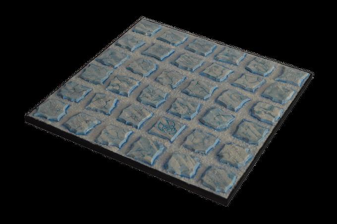 Ice scenery tile (12x12 inch.) / (30x30 cm.)