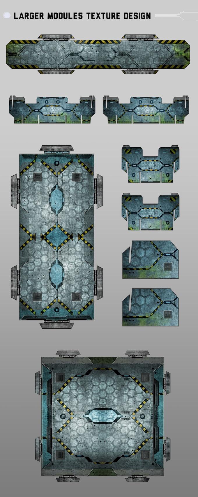Future-Jungle design by Badu