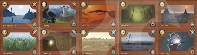 10 Schlachtfeldkarten