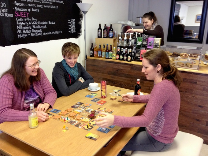 Forbidden Desert was one of our most popular games