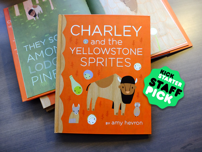 This children's picture book follows a bison named Charley and his sprite friends through the seasons in Yellowstone National Park.