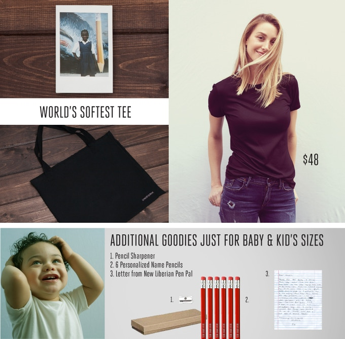 UNIFORM: World's Softest Tee by Liberty & Justice — Kickstarter