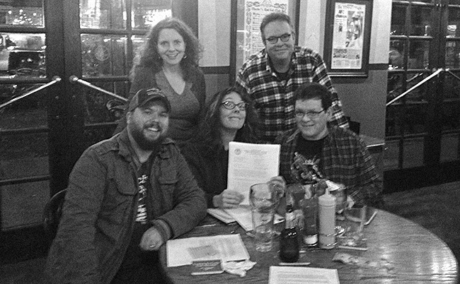 The day we received our official FCC Construction Permit was a very, very happy day over at WXNA HQ (aka The Gerst Haus).