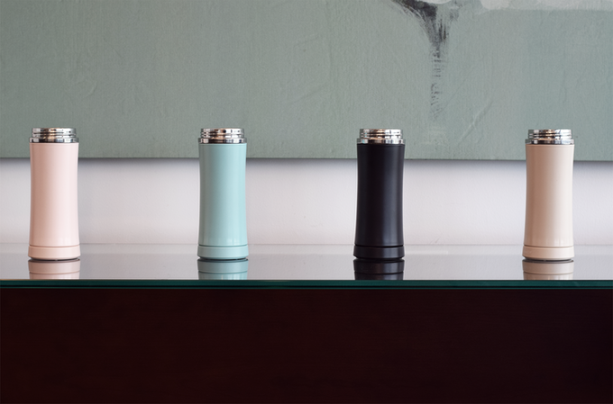h2x is also the most stylish tumbler ever invented, available in 4 colors.