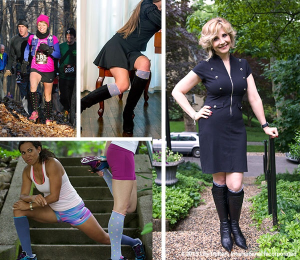 Lily Trotters: Sassy and Sporty Designer Compression Socks! by Susan