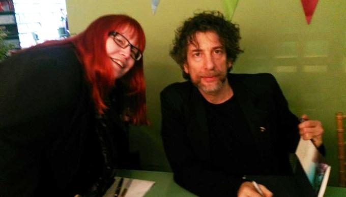 Patrice Hawks-Reed and Neil Gaiman