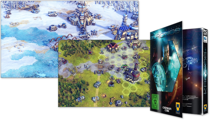 """Our turn-based strategy game """"Battle Worlds: Kronos"""", Release 2014"""