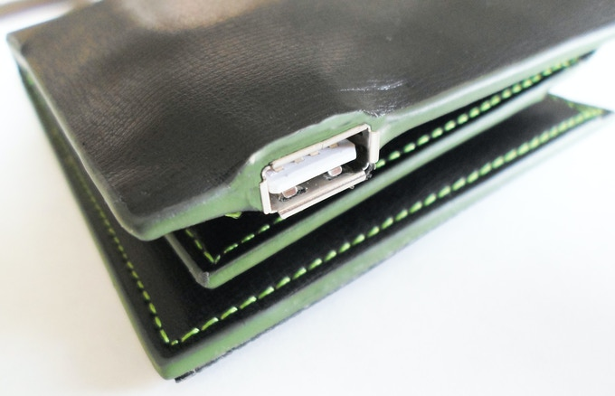 SUNO WALLET : THE SUN IN YOUR POCKETS - A PROTECTIVE USB COVER IS INCLUDED