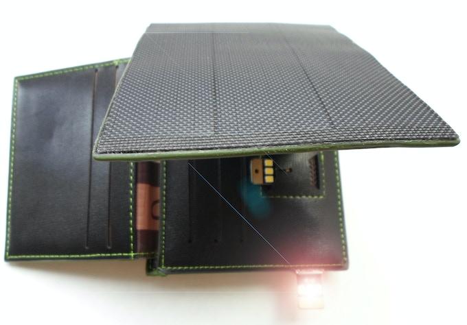 SUNO WALLET DAY & NIGHT : ULTRATHIN USB LED
