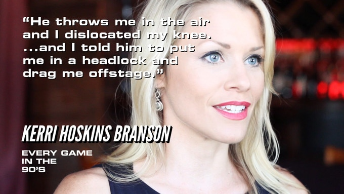 Kerri Hoskins-Branson, actress in many Midway Games, tells about being on the Mortal Kombat Live tour.