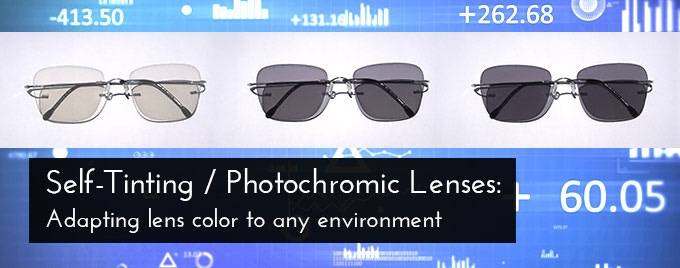 fc99a8fcf3f Gauss glasses  self-tinting lenses change their color and opacity from 10 -  75% depending on how much sunlight shines on them. This means that you can  wear ...