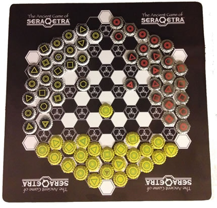SERAQETRA GAME MAT BOARD