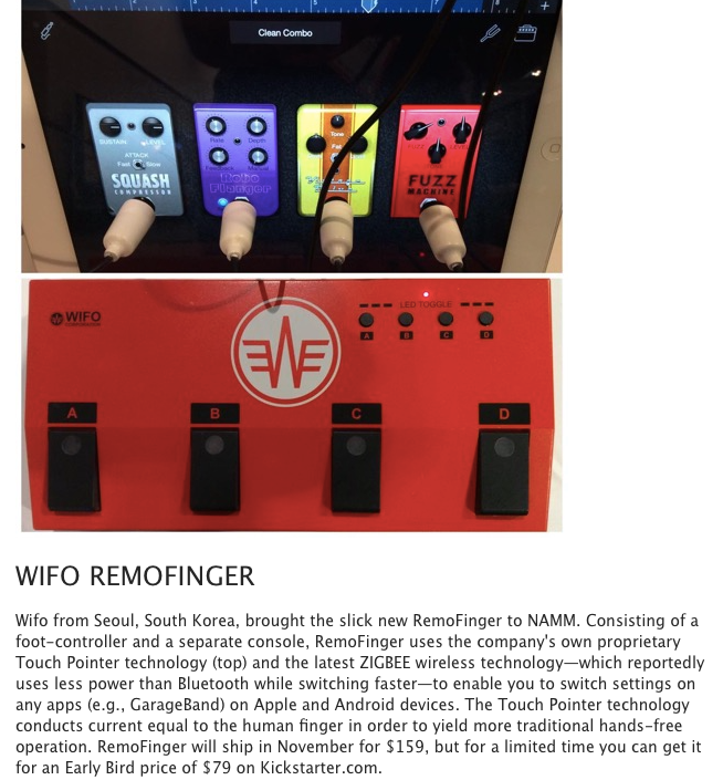 Click the picture to view the article in the Premier Guitar
