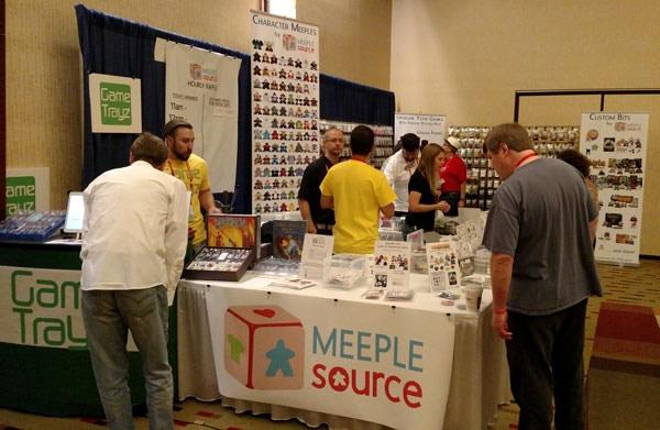 Meeple Source at BGG.CON 2014 in Dallas, TX