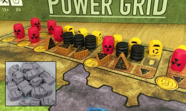 Power Grid upgrade kits from our last Kickstarter project