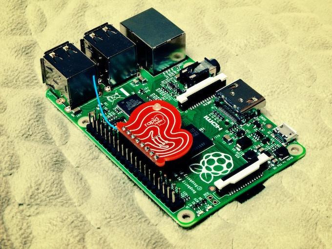 rapidradio 2.4GHz version with Raspberry Pi B+