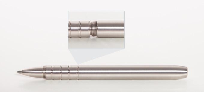 Hidden Separation Line - Standard on all pens