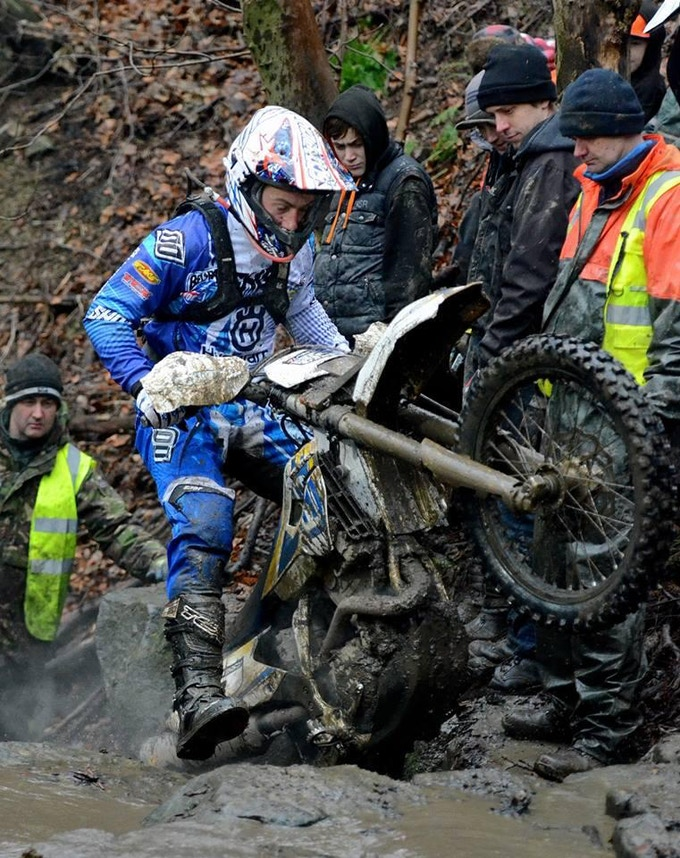 Champion enduro rider Graham Jarvis