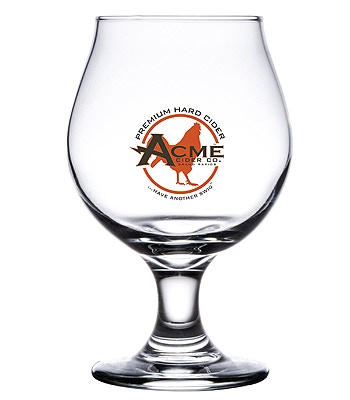 What better way to enjoy ACME Cider. An ACME glass!