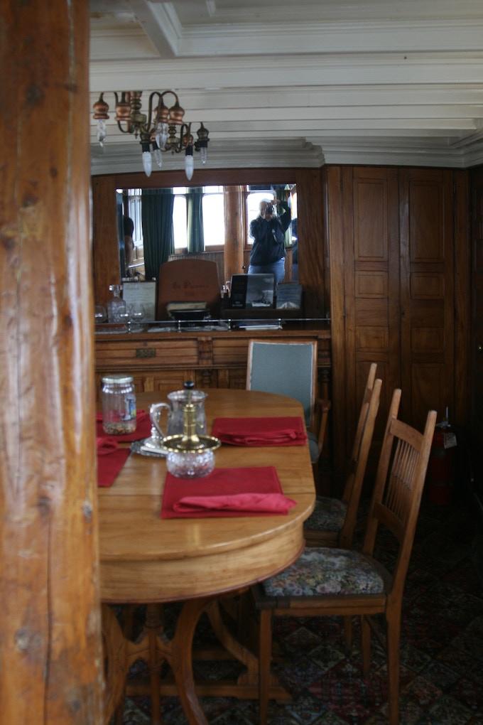 The dining cabin, El Primero