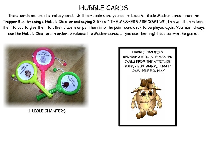 HUBBLE CARDS AND HUBBLE CHANTERS