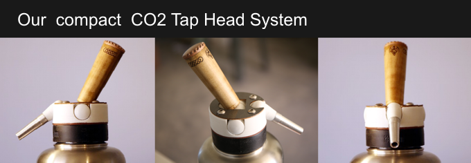 Kickstarter,  CO2 Mini Beer Tap Head System for Growlers