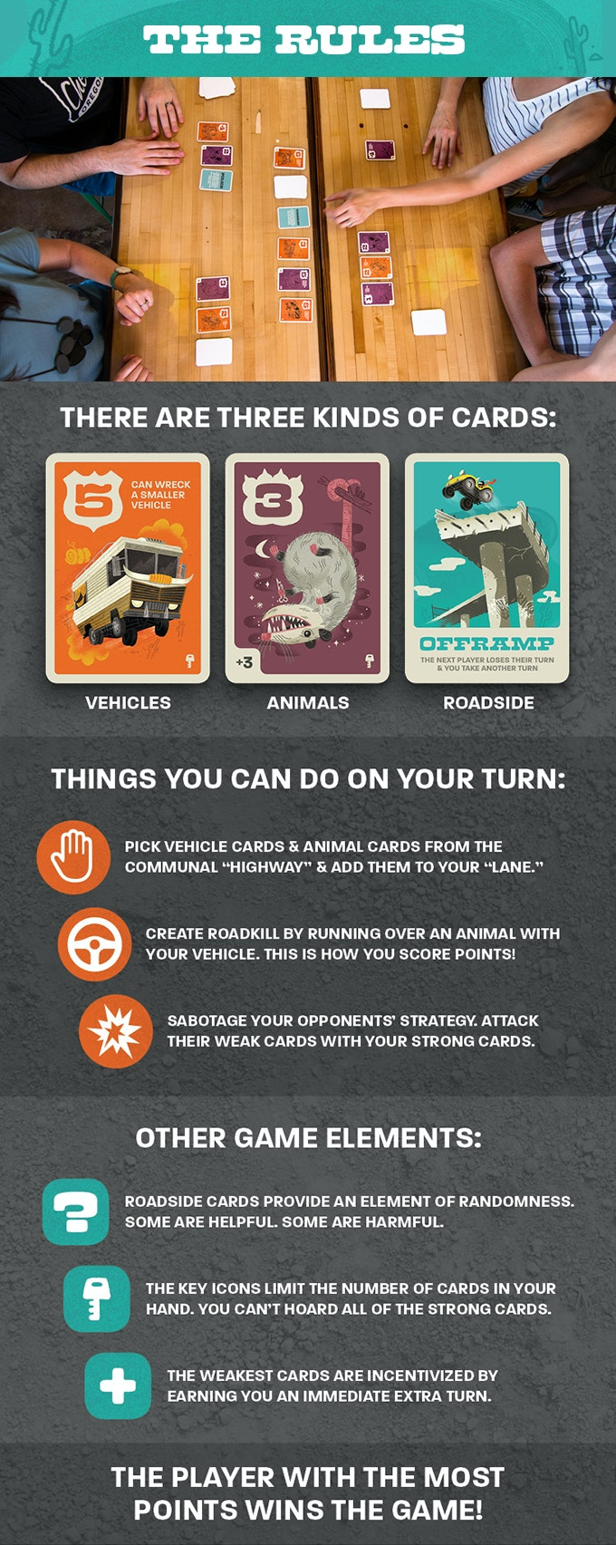 ROADKILL RIVALS: An Animal vs Vehicle Multiplayer Card ...