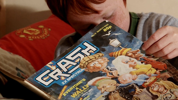 Crash Magazine, a hit for any Speccy Addict.