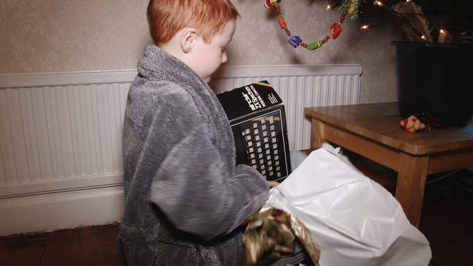 Christmas Day 1984...