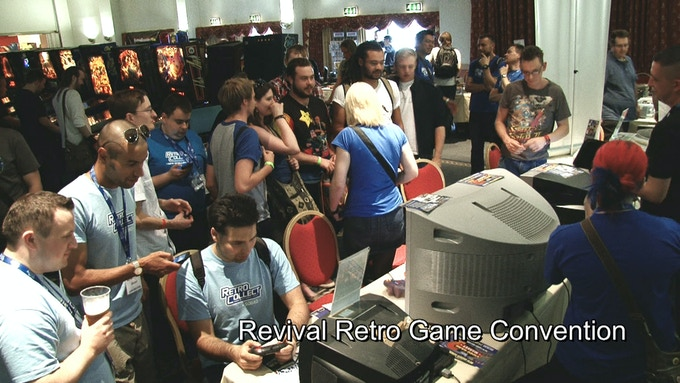 Revival, Retro Game Convention.