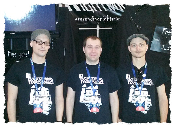 From L to R: Joe, Matt, and Adam