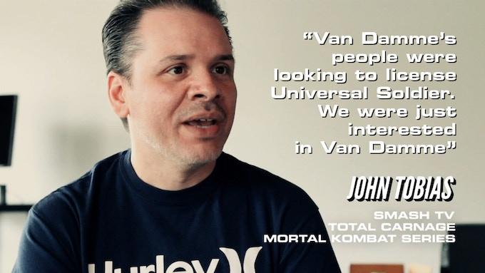 John Tobias, co-creator of Mortal Kombat discussing the origins of Mortal Kombat.