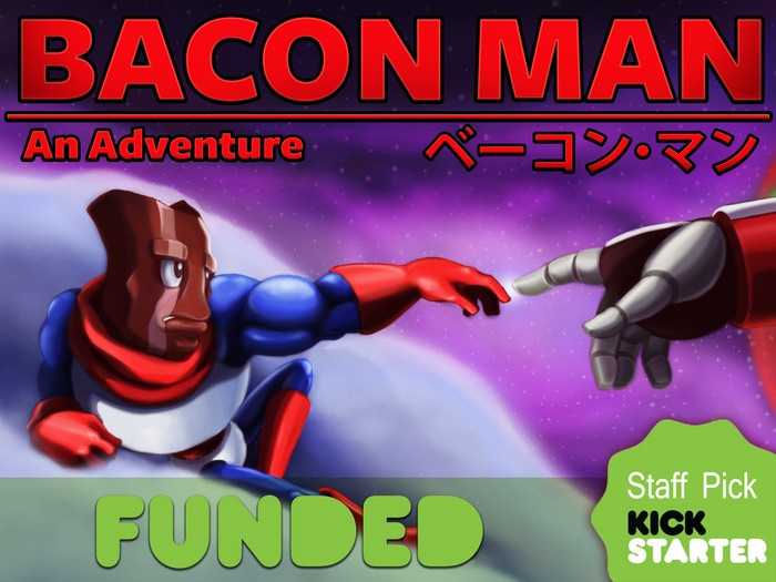 A toaster gun shooting, kung-food fighting, co-op action game starring Bacon Man, true heir to the Meat Throne.