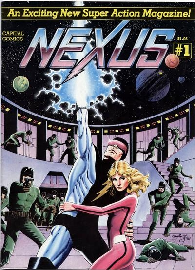 NEXUS #1 FROM CAPITAL by PAUL GULACY