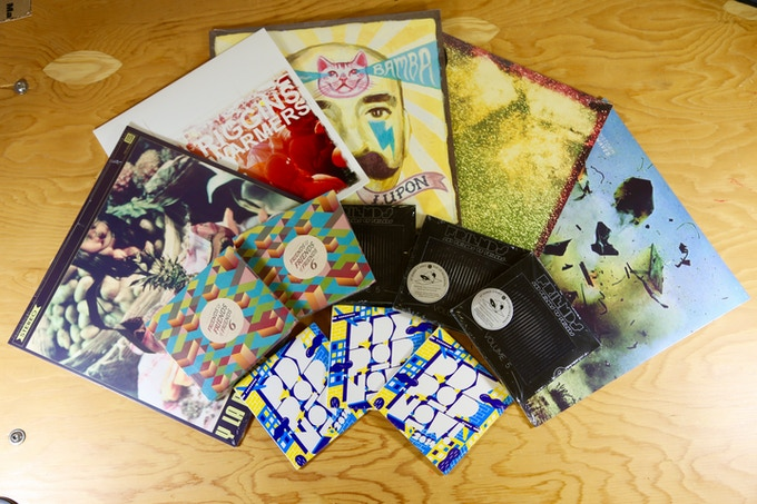 Music Lover Package: Receive a collection of 5 local records from Tender Loving Empire, Party Damage, and PDX Pop Now! $30