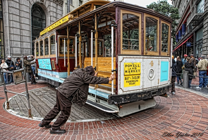Inspired by the Turntable of the San Francisco Cable Cars!