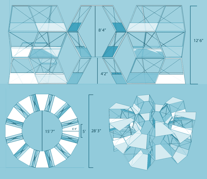 The MultiDeck's Dimensions