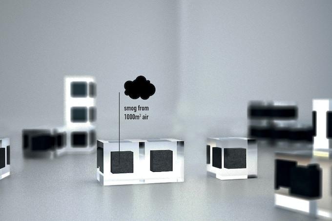 Smog Free Cubes
